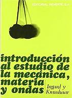 Introduccion Al Estudio de La Mecanica…