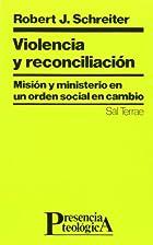 Violencia y reconciliación Misión y…