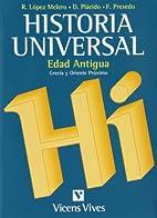 Historia universal by Raquel López Melero