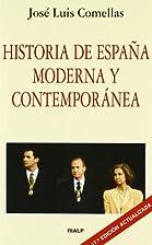 Historia De España Moderna Y Contemporanea…