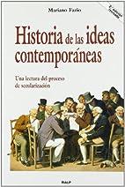 Historia de las ideas contemporaneas. Una…