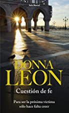 Cuestion de fe by Donna Leon