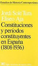 Constituciones y periodos constituyentes en…