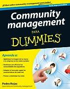 Community management Para Dummies by Pedro…