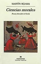 Ciencias morales (Spanish Edition) by Martin…
