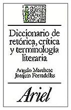 Diccionario de Retorica, Critica y…