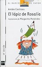 El lápiz de Rosalía by Anton Cortizas