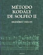 Metodo Kodaly de Solfeo II (Musica) (Spanish…