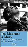 Pau Viciano: De Llorente a Marx