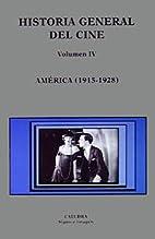 Historia general del cine. Vol.4, América…