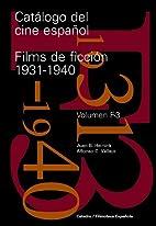 Catálogo del cine español. Films de…