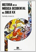 HISTORIA DE LA MUSICA OCCIDENTAL DEL SIGLO…