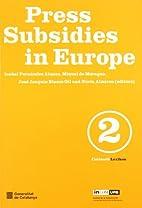 Ajuts a la premsa a Europa by Isabel…