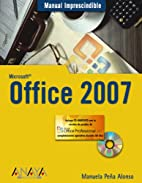 Office 2007 (MANUALES IMPRESCINDIBLES)…