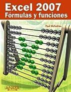Excel 2007 Formulas y funciones / Formulas…
