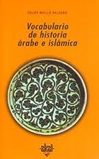 Vocabulario de historia árabe e islámica…