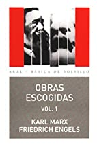 Obras escogidas. Vol. 1 by Karl Marx