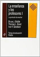 La Ensenanza Y Los Profesores/ International…