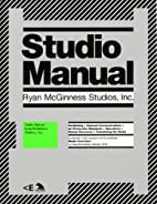 Studio Manual by Ryan McGinness Studios Inc