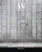 Av 157/158: Herzog & De Meuron 2005-2013…