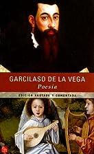 Poesías by Garcilaso de la Vega