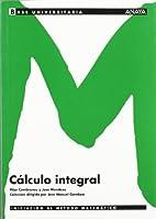 C�lculo integral.