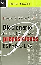 Diccionario de uso de las preposiciones…