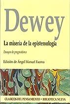 La miseria de la epistemologia: Ensayos de…