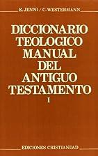 DICCIONARIO TEOLOGICO TOMO I MANUAL ANTIGUO