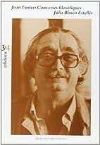 Joan Fuster : converses filosòfiques by…