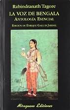VOZ DE BENGALA,LA by Rabindranath Tagore