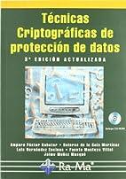Técnicas criptográficas de protección de…
