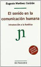 El Sonido En La Comunicacion Humana :…