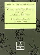 Canarias en la Gran Guerra,…