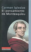 El pensamiento de Montesquieu ciencia y…
