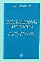 Incarnationis mysterium bula de convocación…