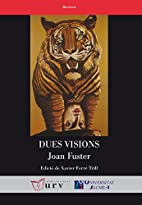 Dues visions by Joan Fuster
