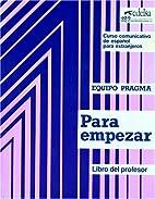 Curso comunicativo de español para…