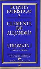 Stromata 1 : cultura y religión by…