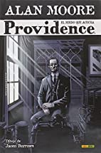 Providence #1 by Alan Moore