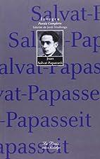 Poesía completa (1894-1924) by Joan…