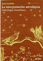 Interpretacion Astrologica . Astrologia…