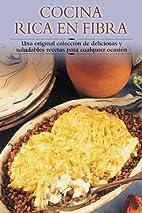 Cocina rica en fibra by Edimat Libros