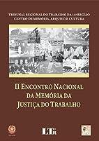 II Encontro Nacional da Memória da Justiça…