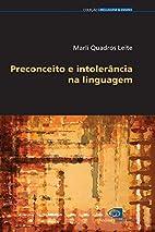 Preconceito E Intolerancia Na Linguagem…