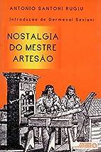 Nostalgia Do Mestre Artesao (Em Portuguese…