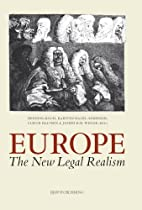 Europe. The New Legal Realism: Essays in…