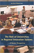 The Role of Universities in Regional…