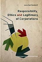 Responsibility, Ethics and Legitimacy of…