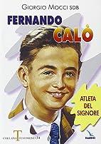 Fernando Calò, atleta del Signore by…